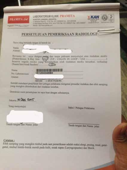 surat pernyataan HSG