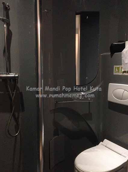 kamar mandi pop hotel kuta Bali