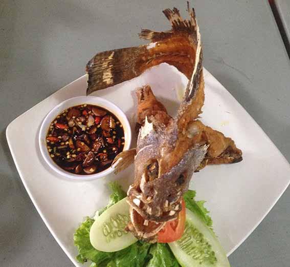 Ikan Kerapu Goreng BakulBakul
