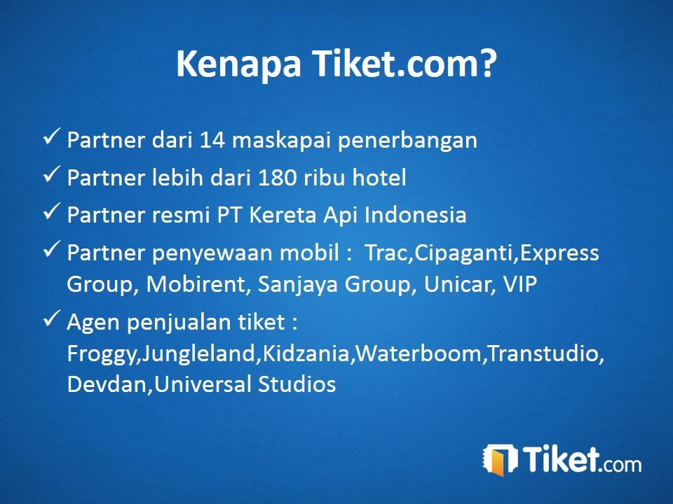 Kenapa tiket.com