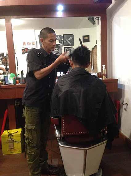 Pangkas Rambut Laki-laki
