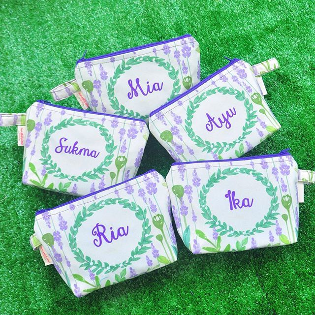 Pouch Cantik Souvenir wedding