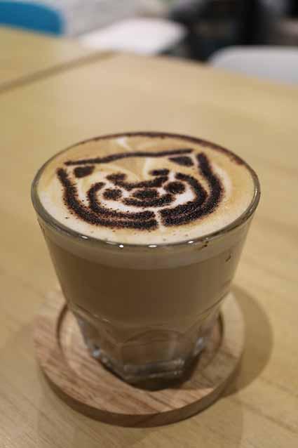 Hazelnut Latte North Pole Cafe