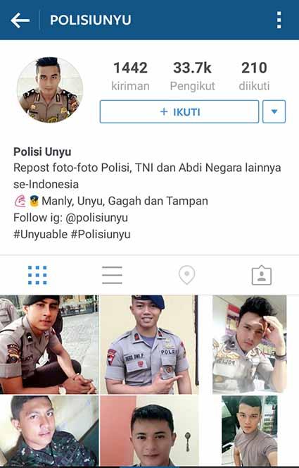 INSTAGRAM POLISI UNYU