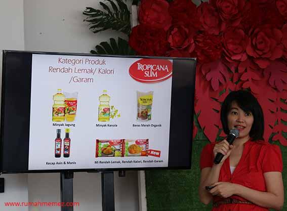 Noviana Halim Brand Manager Tropicana Slim