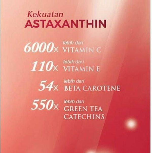 Kekuatan Astaxanthin