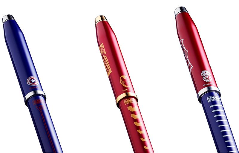 cross pen edisi marvel