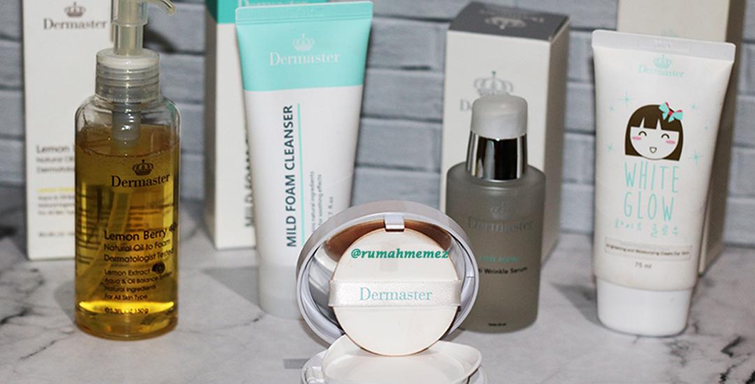 Review : Pengalaman Menggunakan Skin Care Dari Dermaster