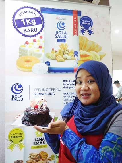Belajar Bikin Kue Di Bungasari Innovation Centre
