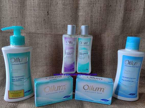 Review : Oilum Collagen Series, Bye bye Kulit Kering