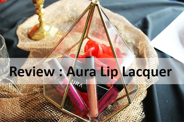 Review : Aura Lip Lacquer, Lipstick Matte Dari Aura Kasih